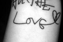 1D inspired tattoos