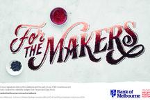 V.V Assorted Advertising Work / Bank of Melbourne, For the Makers. Stylist: www.vickivalsamis.com