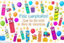 Cumpleaños Felicitaciones