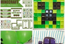 Minecraft Party / by Nancy Moses