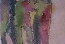 Lisbeth Frandsen malerier