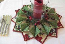 Fold'n'stitch wreath