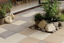 Textured Paving / A selection of teactured paving froom the patio  paving.