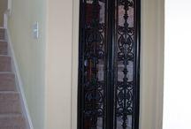 Wine Doors / Custom Wine Doors. Fabricated & installed by Titan Fence & Supply Company.