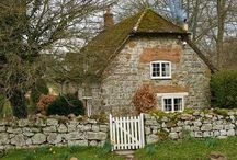 cottages, campagne anglaise...