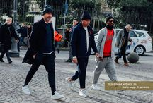 STREET STYLE / Woman and men street look