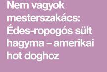 Amerikaihoddogos HAGYMA :D