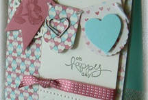 SU Hearts a flutter  / Card inspirations for the hearts a flutter stamp set