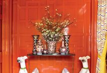 Decorating with shades of orange