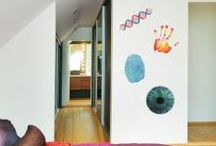 Wall sticker fever / In IN-SPACES we have an ever growing range of unique and stylish wall stickers and decals to add fun and colour to your walls.