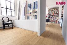 HARO Laminált padló - HARO laminate floor / Laminált padlót keres? Akkor nagyon jó helyen jár!Ön tudta, hogy a laminált padlók 90%-ban fa alapanyagúak áruk mégis sokkal kedvezőbb a valódi fa parkettákhoz képest?Talán ez az egyik fő ok, melynek köszönhető a laminált padlók népszerűsége. Már nincs olyan szín, olyan dekor, melyet ne lehetne reprodukálni egy laminált padlón! A kínálatban megtalálhatóak hosszabb és szélesebb méretű laminált padlók  a nagy terek komfortossá alakításához – mindez köszönhető a HARO újításának!