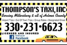 Millersburg, Ohio Taxi & Courier Service / Make #Millersburg, Ohio your #home.