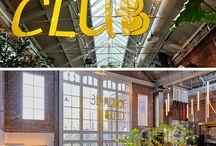 Das Ehemalige Straßenbahndepot In Amsterdam Wurde In Ein Restaurant Und Eine Bar Umgewandelt