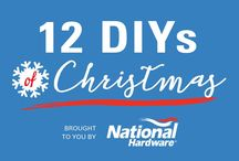 National Hardware's 12 Days of Christmas! / Check out those creative posts from natman.com NATIONAL HARDWARE! 12 Days of Christmas represented with beautiful photos and fun ideas for your home!