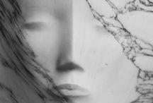 marmur biały inspiracje