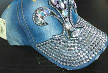 baseball hats with bling