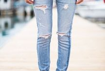 my love for ripped jeans