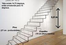 escadas , portas e janelas