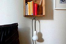 Bedside table alternatives