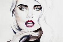♦ My Art ♦ / Pictures I painted. Mostly famous people. Visit also my shop: http://society6.com/SpectreNoir