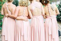 Bridesmaids/party dresses inspo