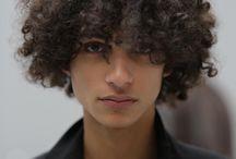 beautiful curly hair people