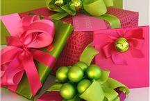 Green & Pink and oh so chic / So cheery and bright, pink and green makes my heart delight / by Jenny Ford