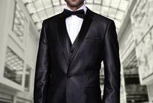 Sharkskin Shiny Suits