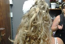 Hair 2 NV / All upstyles along with the make-up and hair colours are done at salon Hair 2NV by Zanne Senekal