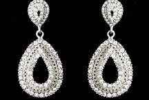 Bridal Earrings / Bridal earrings for the elegant bride and her bridal party.