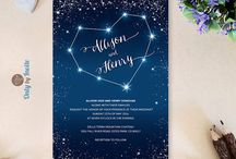 astronomy wedding
