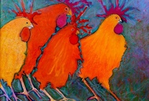 Chickens--May 14th is National Dance Like a Chicken Day!!! / by Jackie Thingvold