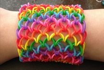 Rainbow loom for Abby  / by Mandy Thompson