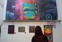 Street Art / El arte no solo se encuentra en galerías, si no también en la calle, para estos artistas, la ciudad en si misma es su lienzo.