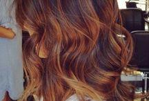 Tips hår