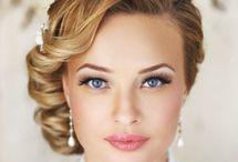 Moodboard coiffure makeup