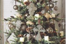 *** Inspiration Sapins de Noël *** / Idées de décoration de sapin de Noel