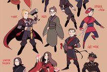 Avengers karikatürleri