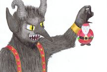 Krampus in the Corner
