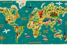 Lovely Maps / Maps, globes, posters and more maps. Love travel, love maps! / by Inside the Travel Lab - Abi King