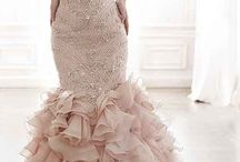 Pink blush wedding dresses