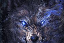 Wolf jeep maska