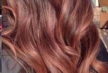Rose gold brunettes