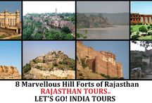 8 Marvellous Hill Forts of Rajasthan / Read blog on 8 Marvellous Hill Forts of Rajasthan :           http://letsgoindiatours.blogspot.in/2016/03/8-marvellous-hill-forts-of-rajasthan.html