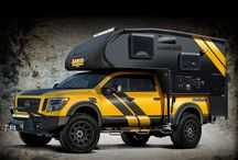 Overland vehicles, campers etc