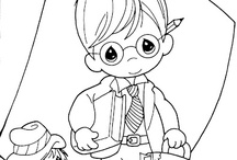 Coloring Pages & Activities / by Barbara Ewing