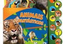 Livros Sonoros / Diversos livros com sons de animais, personagens e outros para diversão da criançada