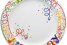 Birthday plates / by Mary Caher