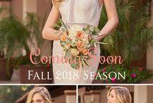 Fall 2018 First Preview / Jasmine Bridal Fall 2018 bridal, bridesmaid, and mother of the bride dresses coming soon! F18 season will be launching on 4-15-18. You get the first look into our upcoming season! #Fall2018 #F18 #comingsoon #firstpreview #sneakpeek #bridalfashion #weddingfashion