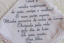 Frases de bordados casamentos
